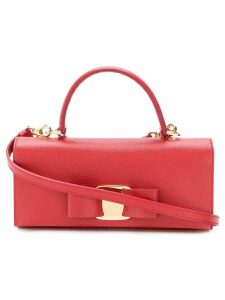 Salvatore Ferragamo Vara bow mini bag - Red