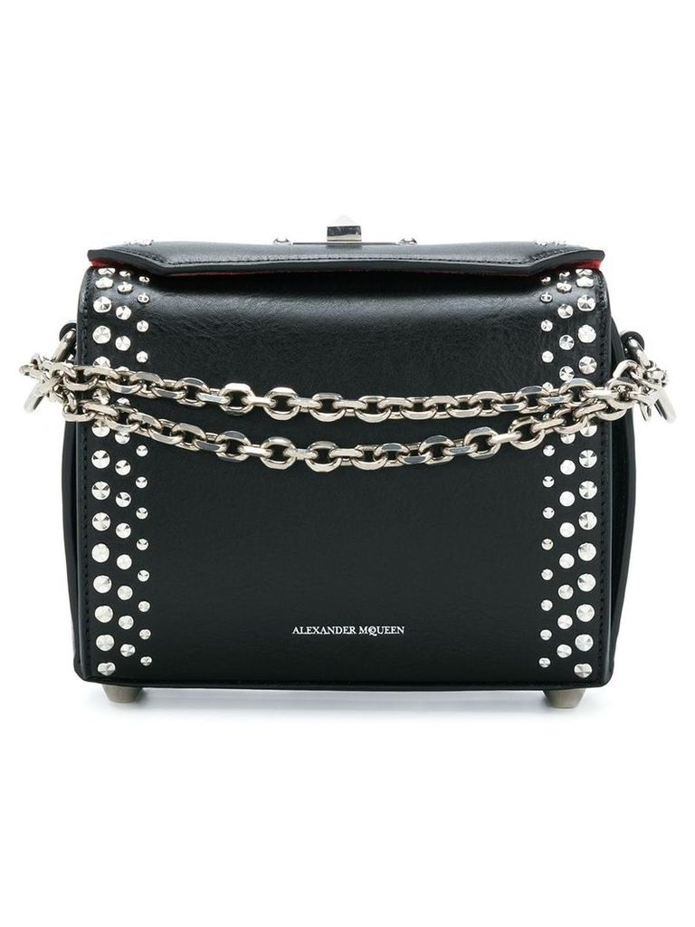 Alexander McQueen studded Box bag - Black