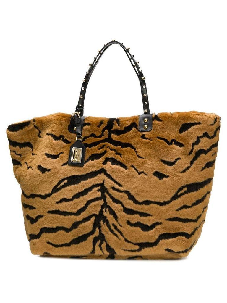 Dolce & Gabbana Beatrice shopping bag - Brown