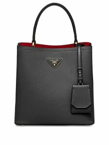 Prada Double Saffiano leather tote - Black