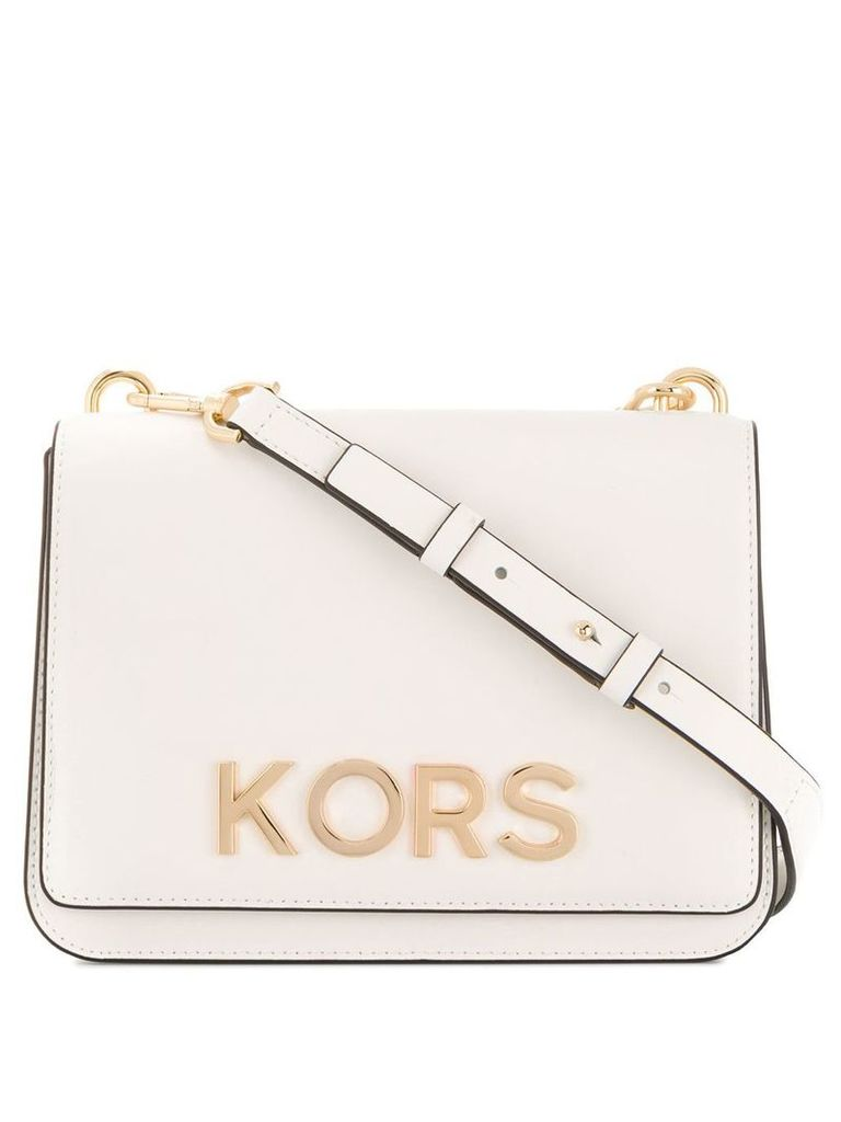 Michael Michael Kors embellished crossbody bag - White