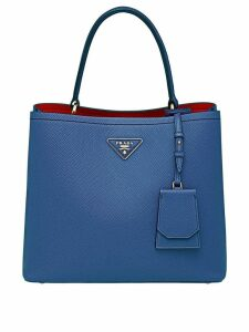 Prada Double Saffiano leather bag - Blue