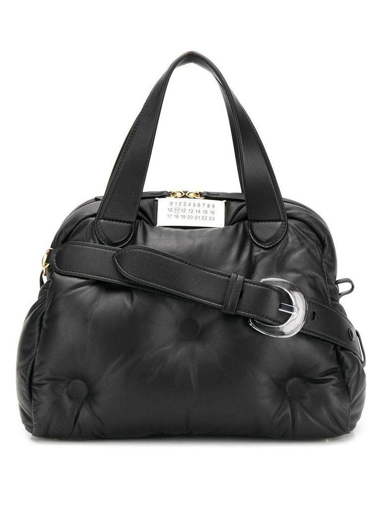 Maison Margiela Boston Glam Slam tote bag - Black