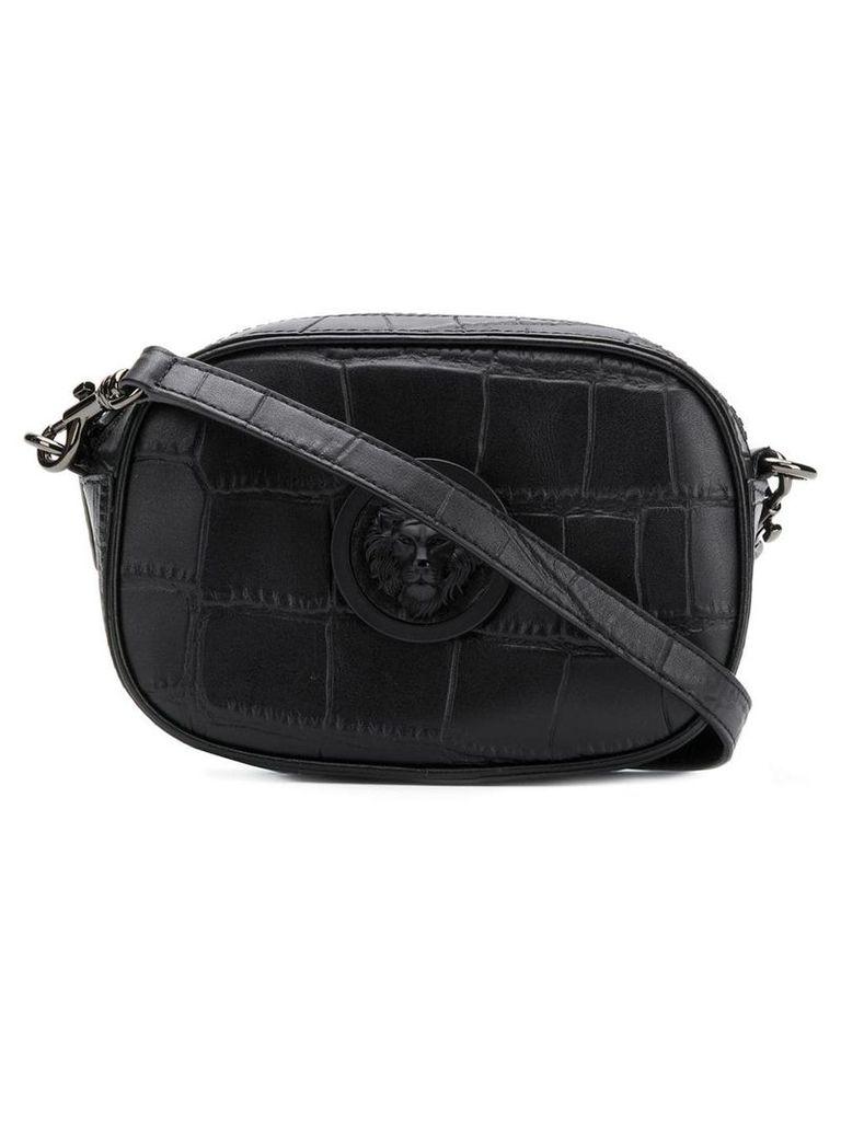 Versus Lion Head crossbody bag - Black