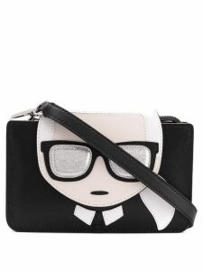 Karl Lagerfeld K/Ikonik Triple crossbody bag - Black