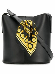 Versace Sash bucket bag - Black