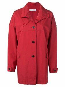 Jil Sander Pre-Owned 1990's loose coat - Red