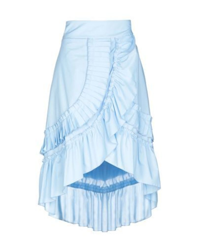 KAOS JEANS SKIRTS 3/4 length skirts Women on YOOX.COM