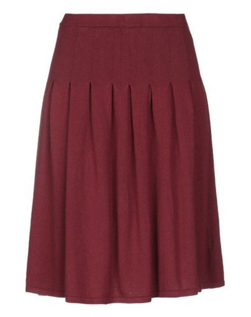 PIERRE BALMAIN SKIRTS Knee length skirts Women on YOOX.COM