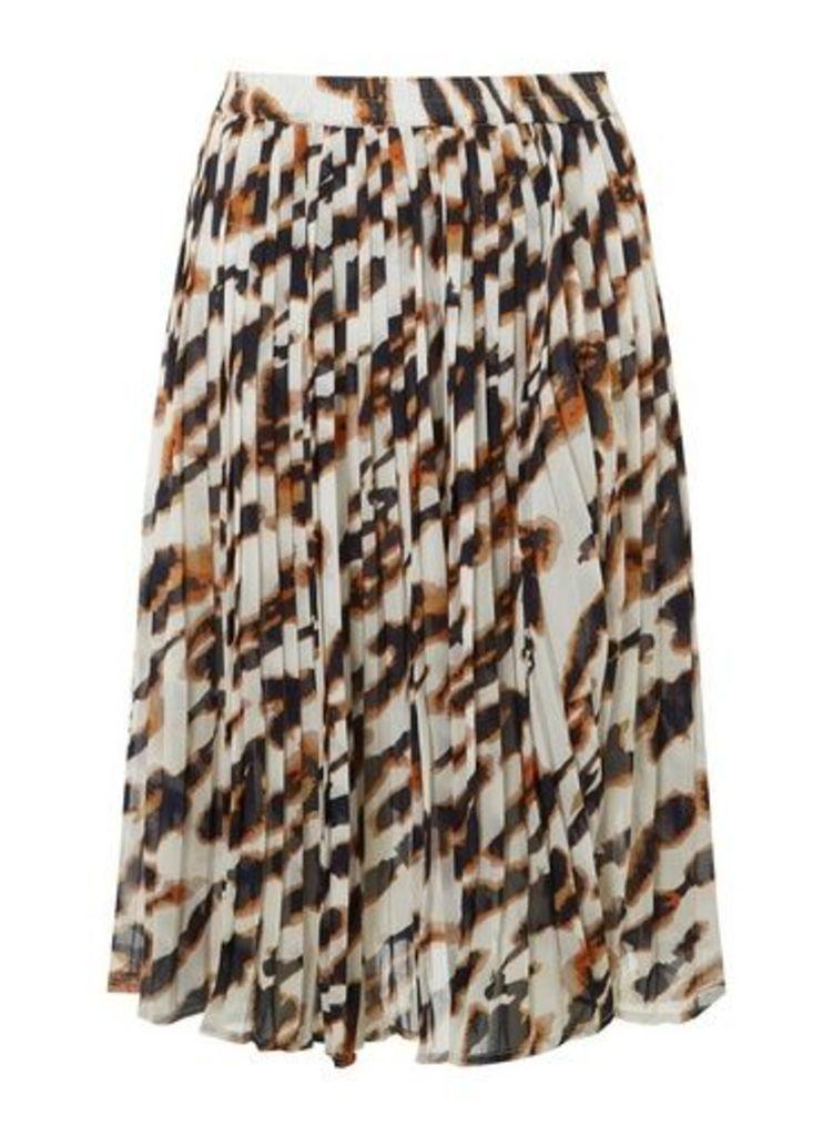 Womens **Vero Moda Multi Coloured Tanilla Skirt- Black, Black