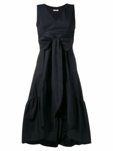 P.A.R.O.S.H. ruched flared dress - Blue