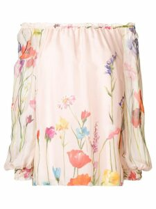 Blumarine floral print blouse - Pink