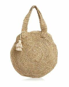 Faithfull the Brand Freya Round Beach Bag