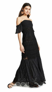 Temptation Positano Bora Bora Long Strapless Dress