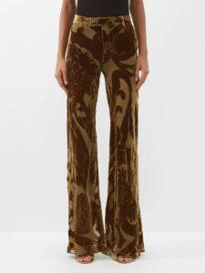 Prada - Logo Print Canvas Tote - Womens - Black