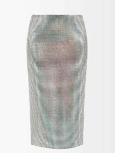 Miu Miu - Matelassé-quilted Velvet Belt Bag - Womens - Red