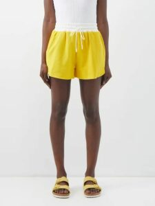 The Row - The Ascot Satin Clutch - Womens - Navy