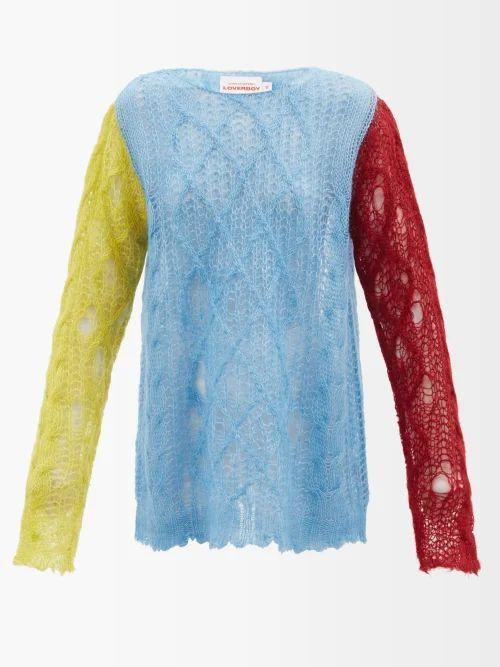 Sophia Webster - Clara Crystal Embellished Box Clutch - Womens - Black Multi