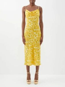 The Row - Double Circle Mini Silk Satin Bag - Womens - Black