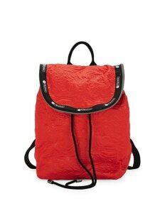 Colette Floral Embossed Backpack
