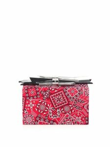 Wolf Paisley Clutch