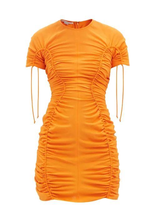 Loewe - Gate Small Leather Cross Body Bag - Womens - Green Multi