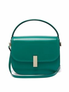 Valextra - Iside Leather Cross Body Bag - Womens - Green