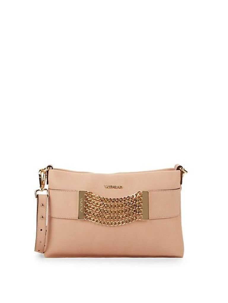 Vanille Chain Leather Crossbody Bag