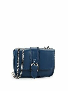 Chained Leather Crossbody Bag