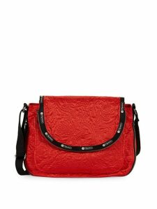 Colette Floral Messenger Bag