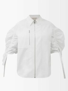 Albus Lumen - Luvia Silk Satin Dress - Womens - Navy