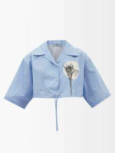 Three Graces London - Wilhelmina Ruffle Silk Maxi Dress - Womens - Red