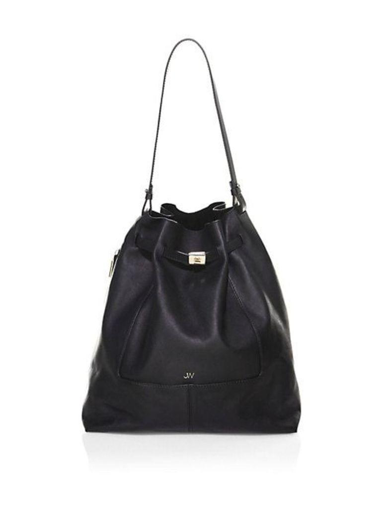 Softy Leather Bucket Bag