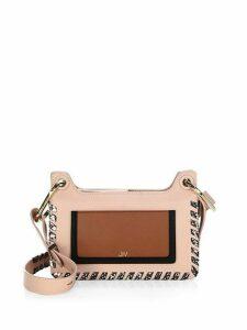 Suvi Whipstitched Leather Baguette Shoulder Bag