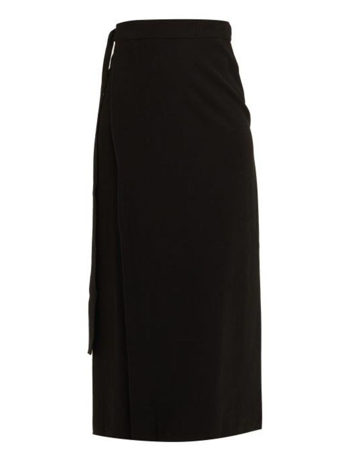 Haight - Tie Waist Sarong Skirt - Womens - Black