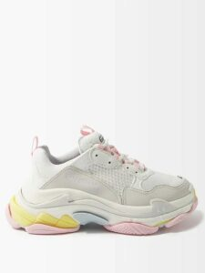 Zeus + Dione - Muses Striped Jacquard Silk Blend Wrap Skirt - Womens - Navy
