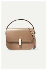 Valextra - Iside Leather Shoulder Bag - Taupe