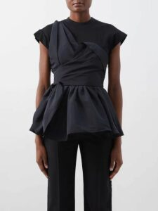Zimmermann - Primrose Shirred Linen Midi Dress - Womens - Black