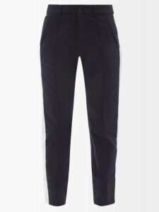 Emilia Wickstead - Python Print Linen Midi Dress - Womens - Pink Print