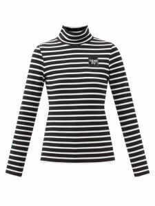 Loup Charmant - Lily Layered Cotton Dress - Womens - Navy
