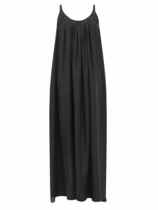 Belize - Sally Gingham Midi Dress - Womens - Black White
