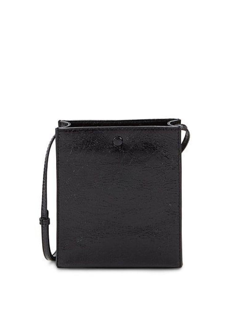 Rectangular Leather Shoulder Bag