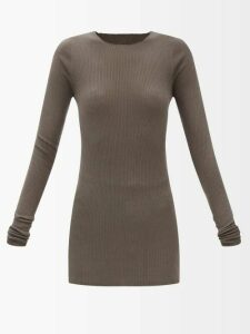 Emilia Wickstead - Ines Python Print Linen Skirt - Womens - Yellow