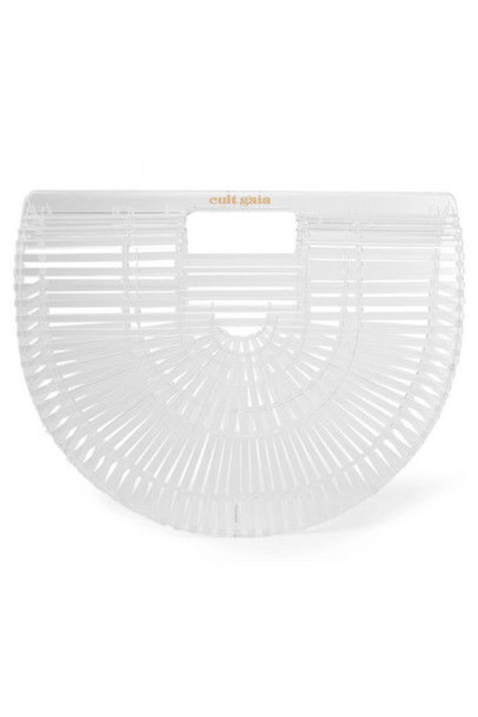 Cult Gaia - Ark Small Acrylic Clutch - White