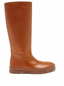 Love Binetti - Eyelet Tiered Hem Cotton Dress - Womens - Black