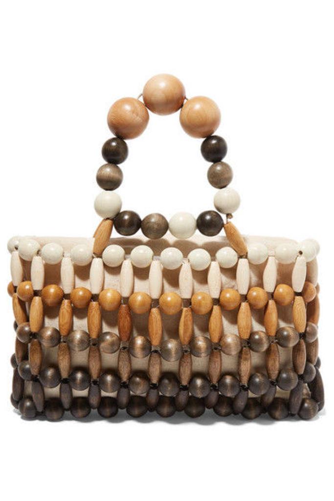 Cult Gaia - Cora Mini Bamboo Tote - Brown