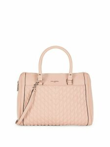 Agyness Quilted Leather Satchel Bag