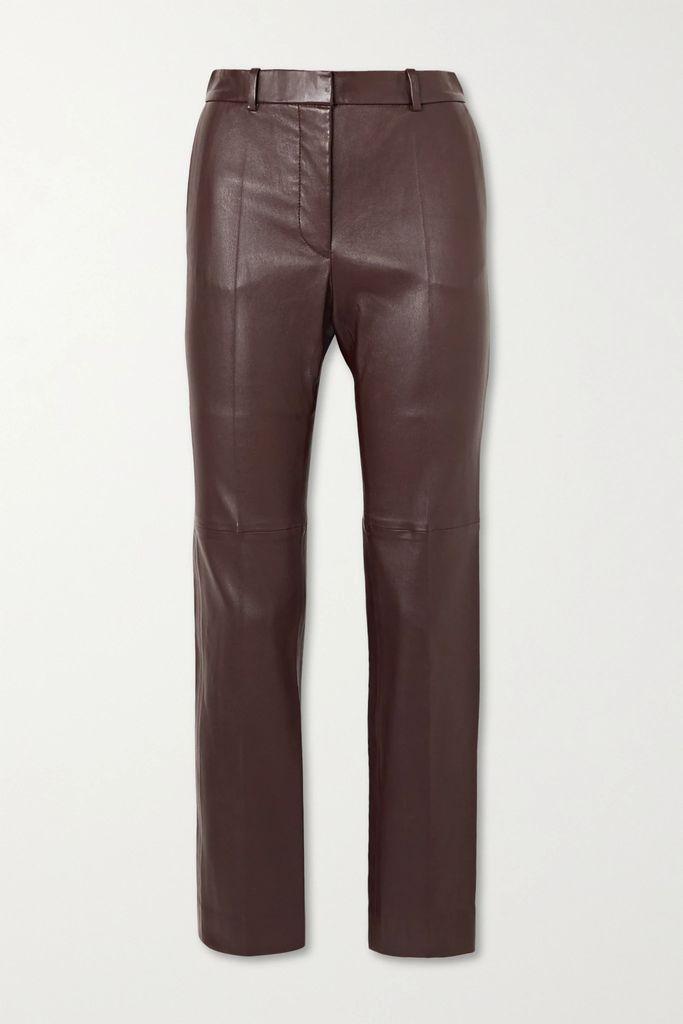 Danse Lente - Phoebe Bis Color-block Textured-leather Shoulder Bag - Navy