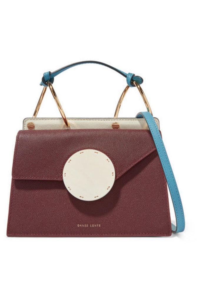 Danse Lente - Phoebe Bis Color-block Textured-leather Shoulder Bag - Brown