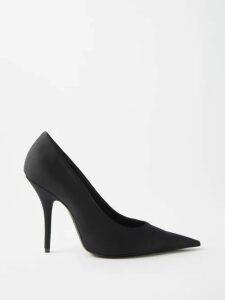 Emilia Wickstead - Snakeskin Print Linen Dress - Womens - Pink Print